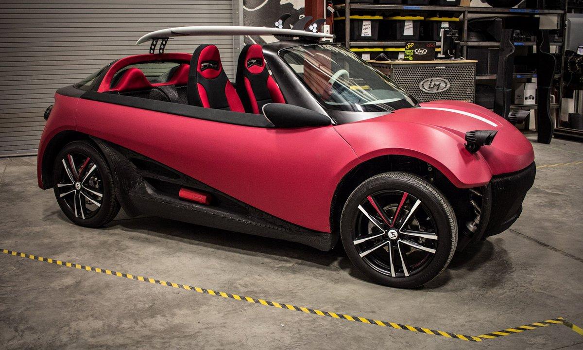 SEMA Show 2015 : Local Motors dévoile la première voiture imprimé en 3D