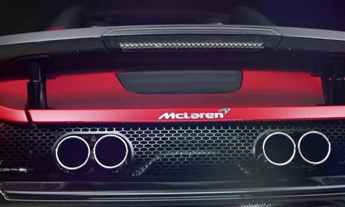 McLaren 650S Can-Am Spyder en présentation officielle