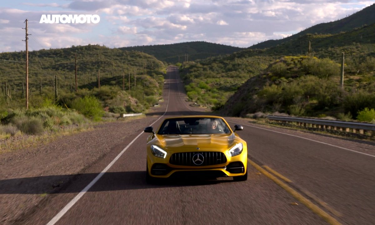 Teaser : La Mercedes-AMG GT C Roadster et l'Arizona automobile dans Automoto