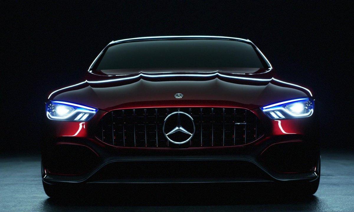 Mercedes-AMG GT Concept 2017 : Présentation officielle