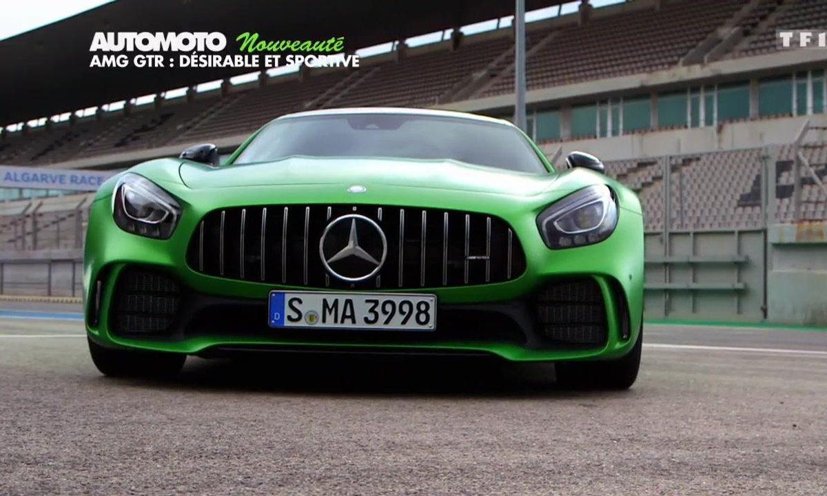 Nouveauté : La Mercedes-AMG GT R sur circuit !