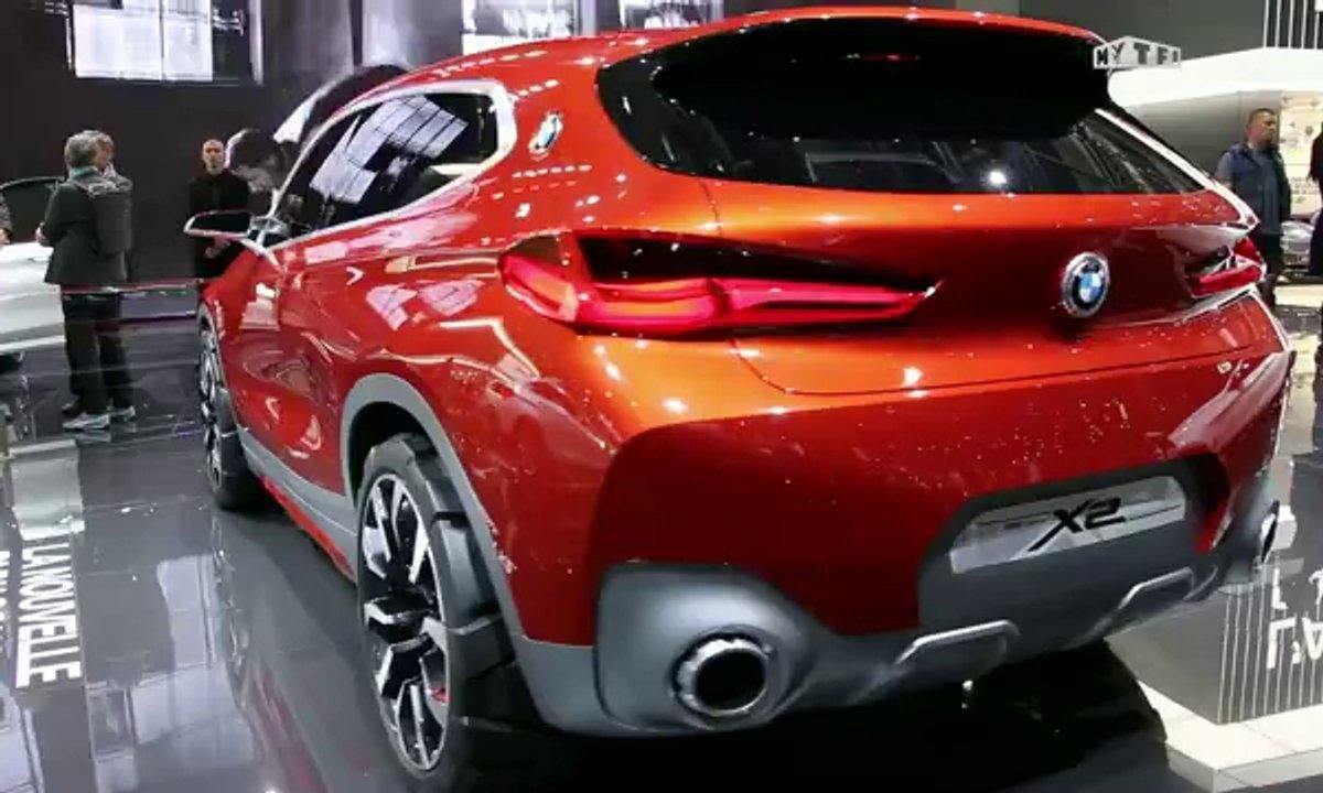 Mondial de l'Auto 2016 : BMW X2 Sport Cross, sur les traces du Q2