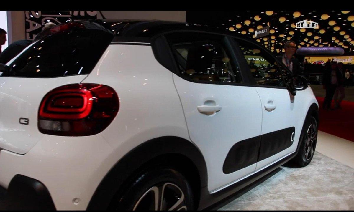 Mondial de l'Auto 2016 : Citroën C3, génération mature et funky