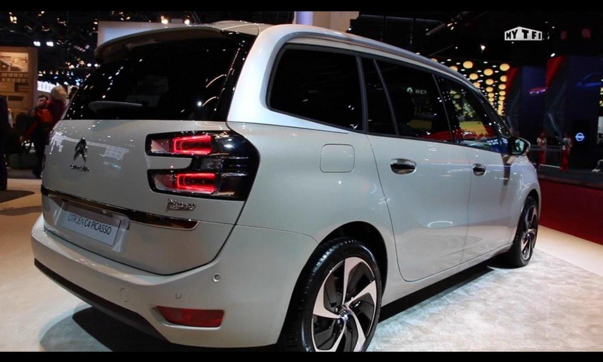 Mondial de l'Auto 2016 : Citroën C4 Picasso restylé, pour contrer le Scénic