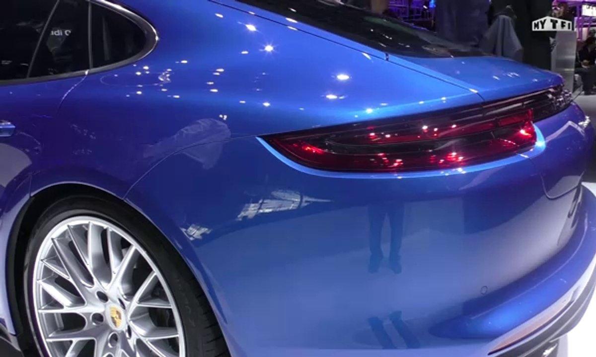 Mondial de l'Auto 2016 : Porsche Panamera, élégance et hybride toute !