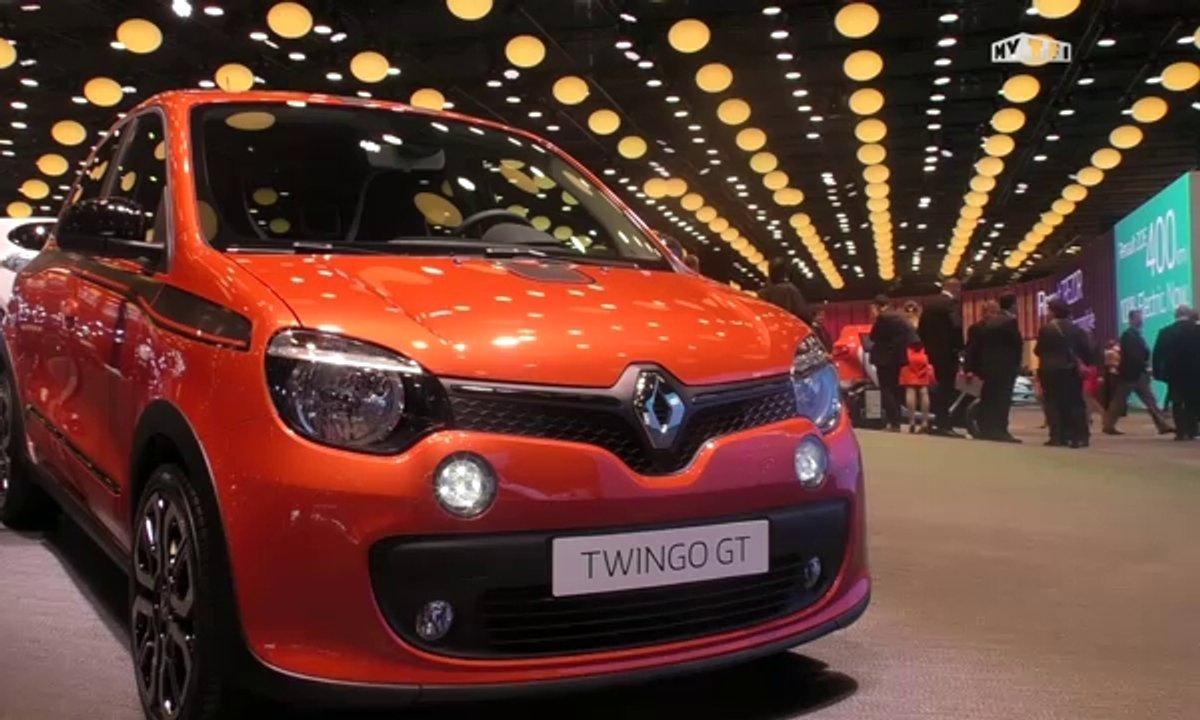 Mondial de l'Auto 2016 : Renault Twingo GT, petite pépite des villes