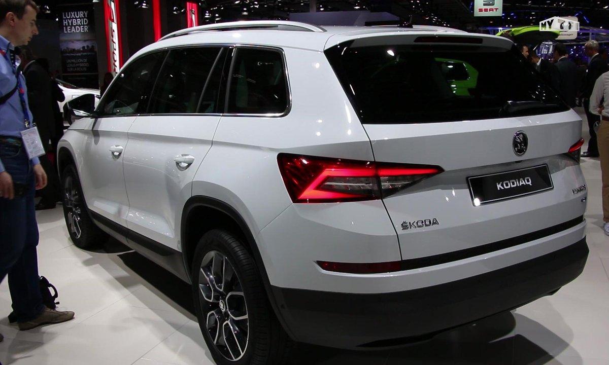 Mondial de l'Auto 2016 : le Skoda Kodiaq, 1er SUV à la tchèque