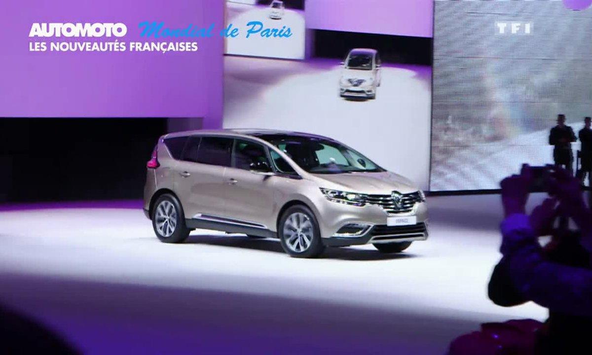Mondial de l'Automobile 2014 - Les Françaises : Espace, Divine DS, Quartz Concept...