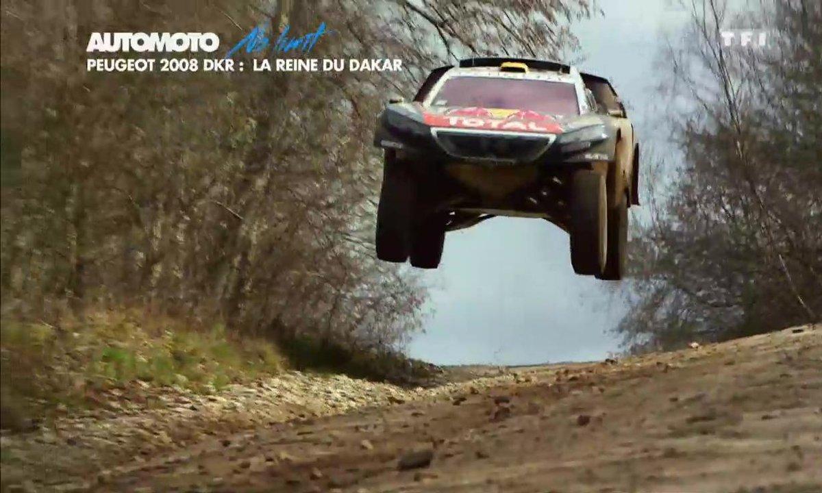 No Limit : A bord de la Peugeot 2008 DKR, star du Dakar