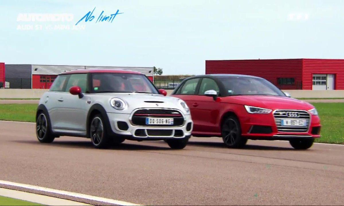 No Limit : Audi S1 vs MINI JCW, duel de petites sportives