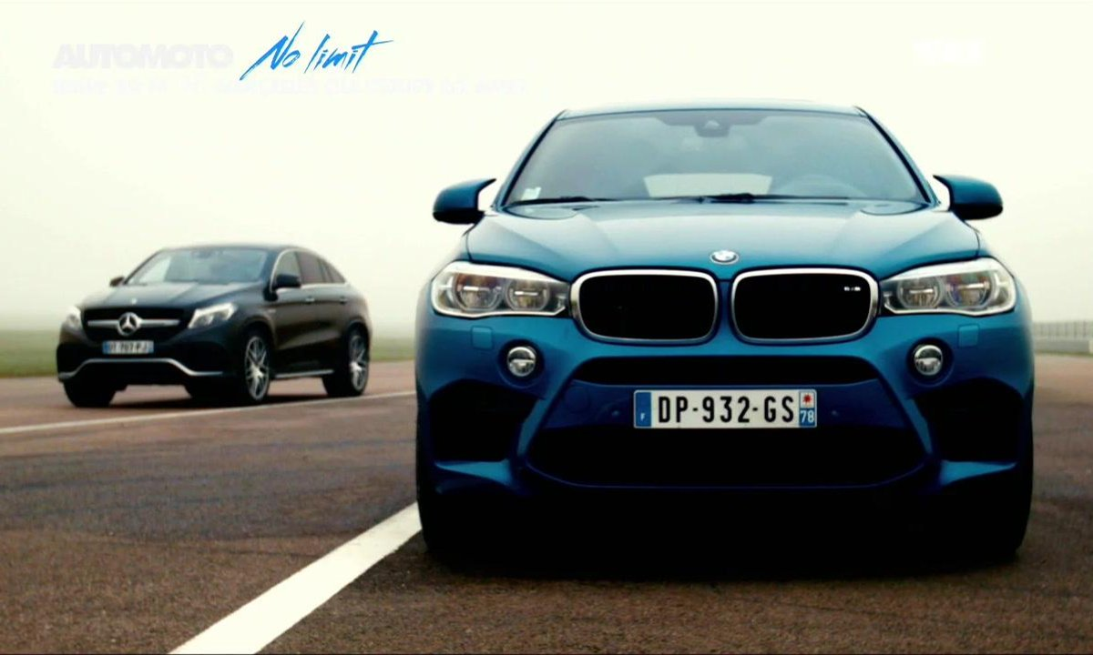 No limit : BMW X6 M vs Mercedes GLE Coupé 63 AMG