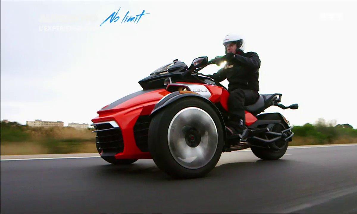 No Limit :  Le Can-Am Spyder F3