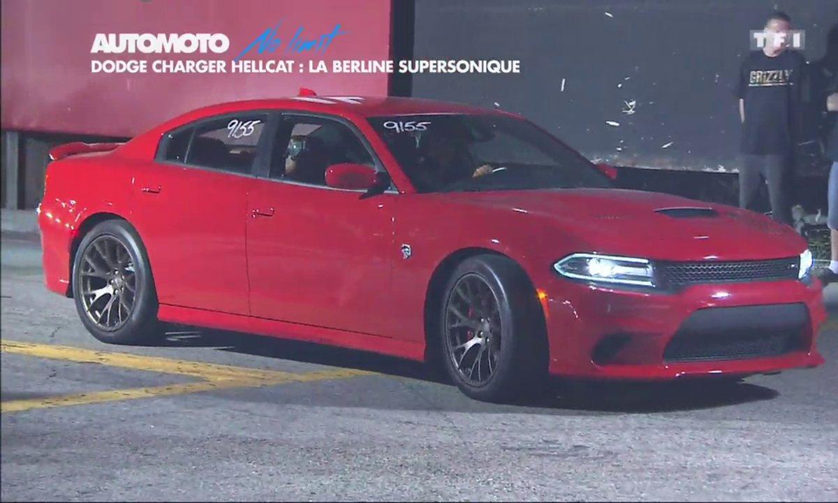 No limit : Dodge Charger SRT Hellcat, la berline la plus puissante au monde
