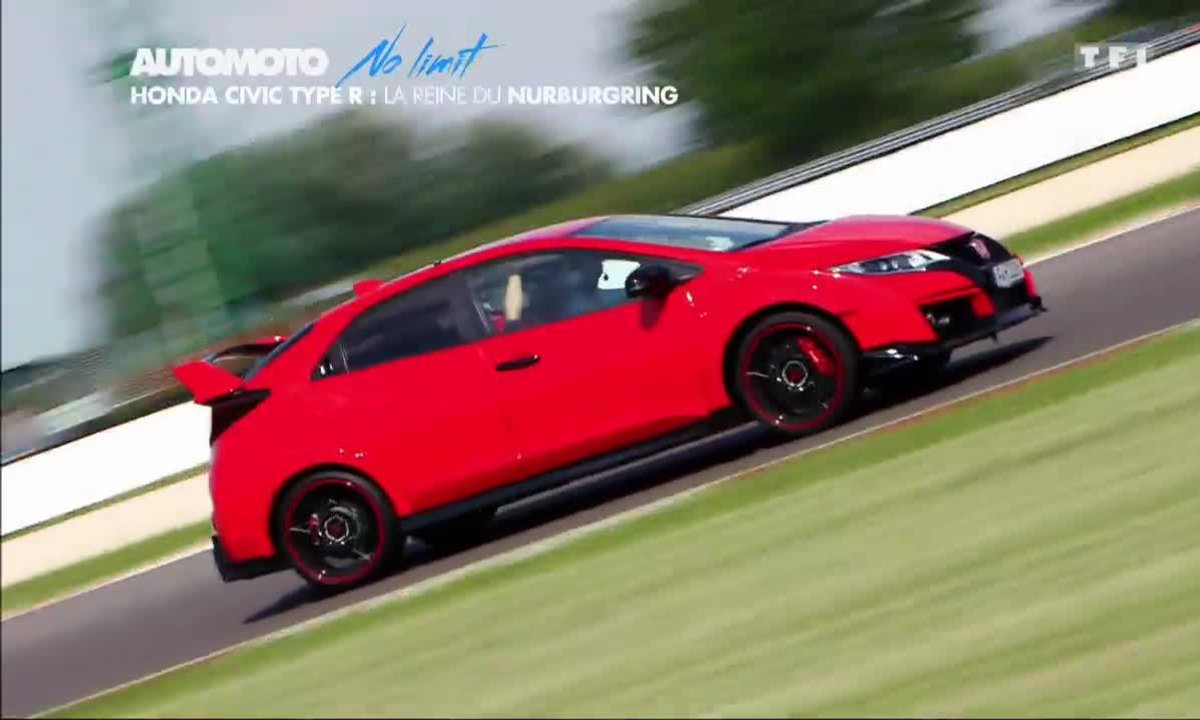 No Limit : Honda Civic Type R, reine du Nürburging