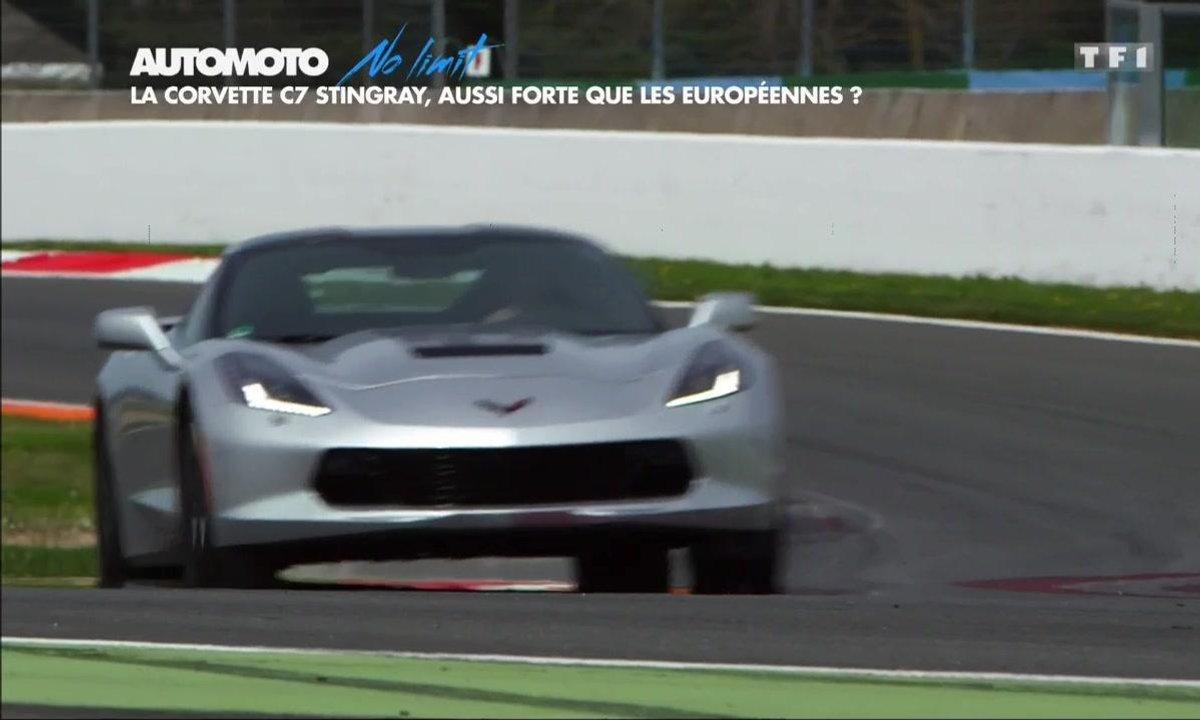 No Limit : La nouvelle Corvette Stingray 2016 sur circuit