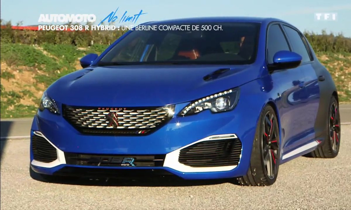No Limit : la Peugeot 308 Hybrid R sur circuit
