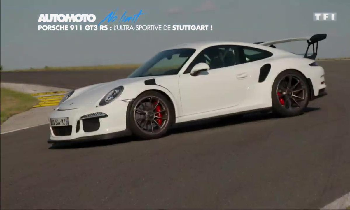 No Limit : Porsche 911 GT3 RS, l'ultra-sportive de Stuttgart