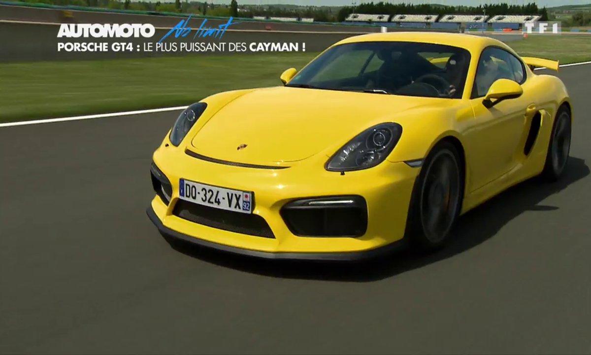 No Limit : Porsche GT4, la plus puissante des Cayman !