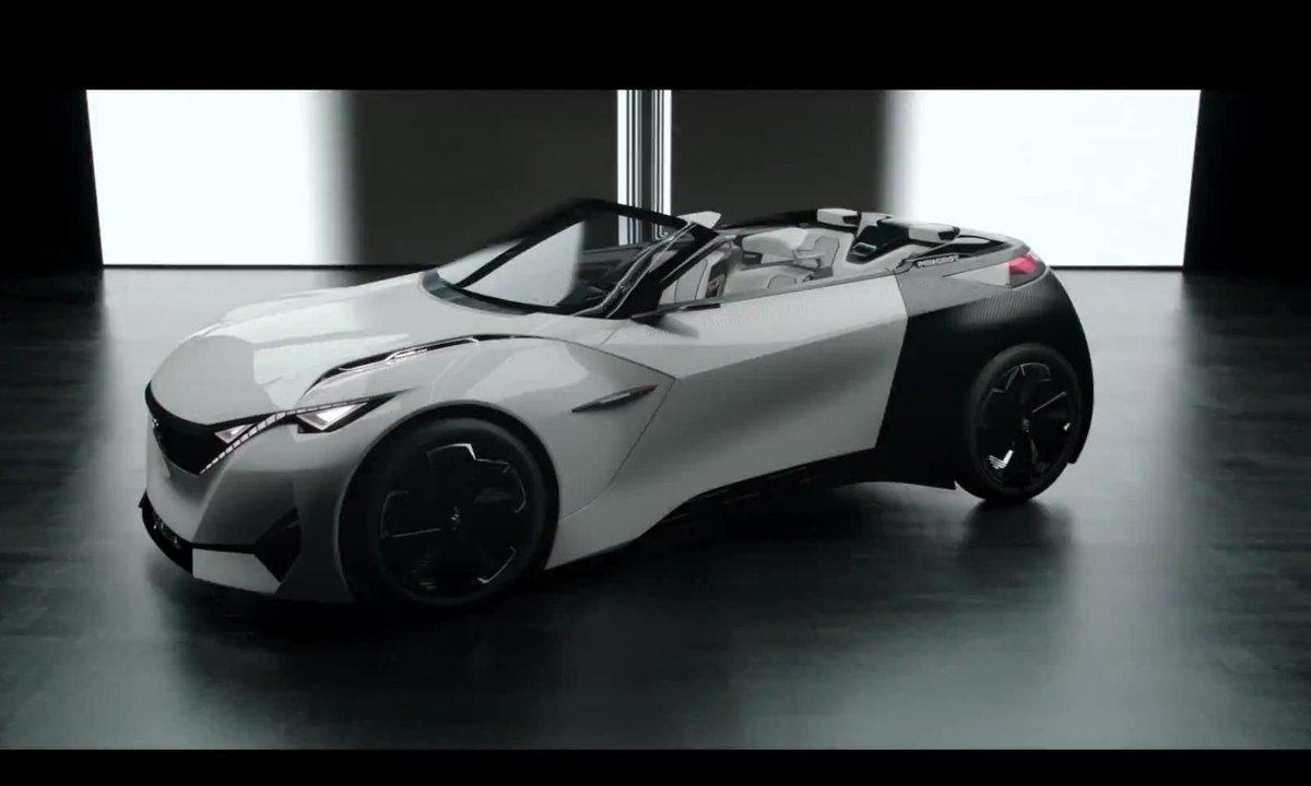 Peugeot Fractal Concept 2015 : présentation officielle