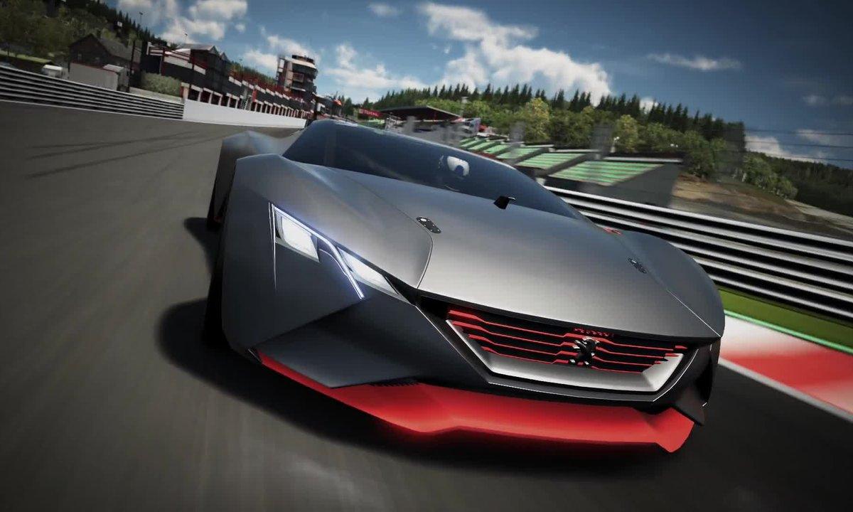 Peugeot Vision GT Concept 2015 : présentation officielle