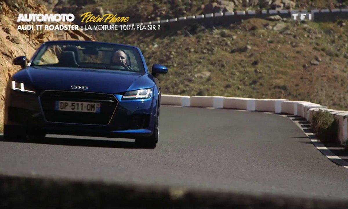 Plein Phare : Audi TT Roadster, la voiture plaisir