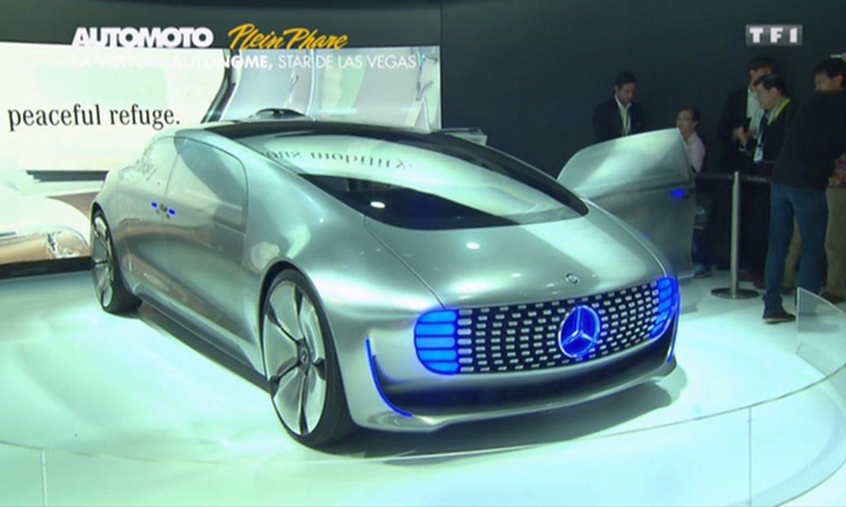 Plein Phare : La voiture du futur au CES de Las Vegas 2015