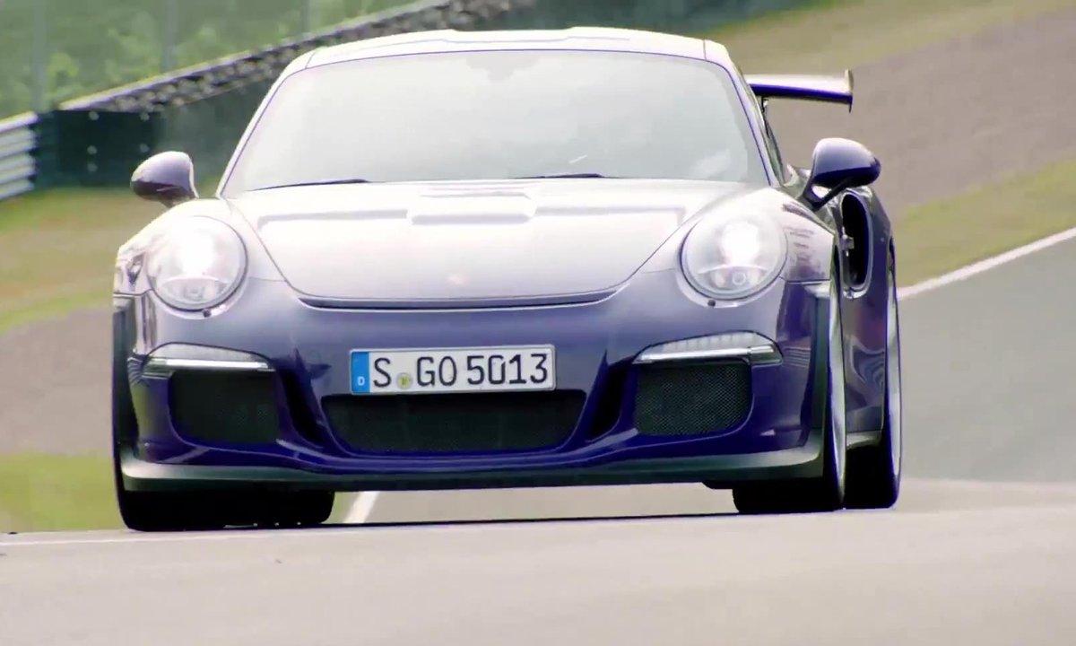La Porsche 911 GT3 RS 2015 sur circuit