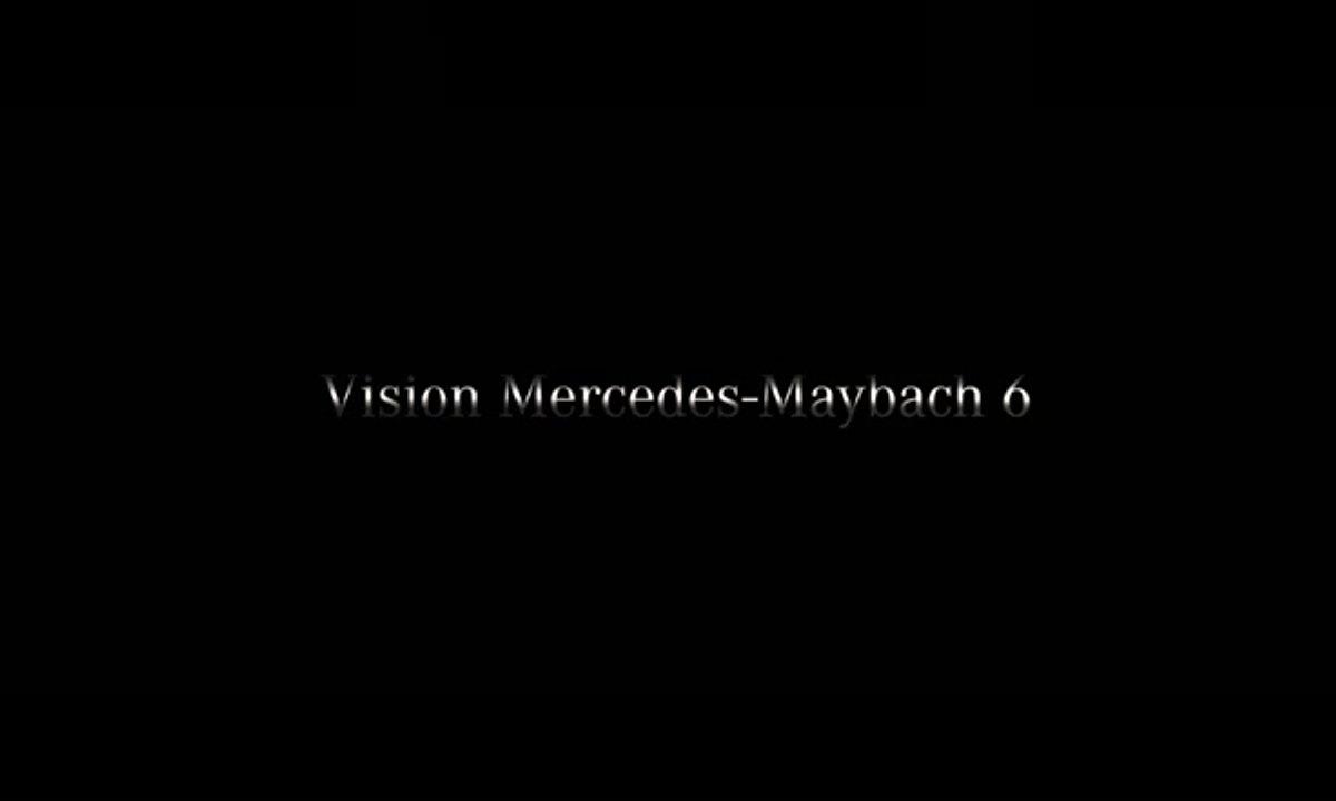 Le concept Vision Mercedes-Maybach 6 se montre en teaser