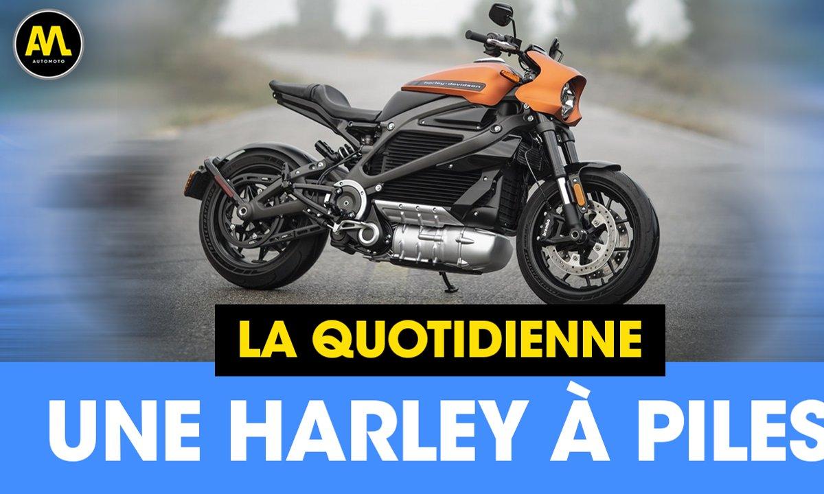 Une Harley à piles - La Quotidienne du 18/04