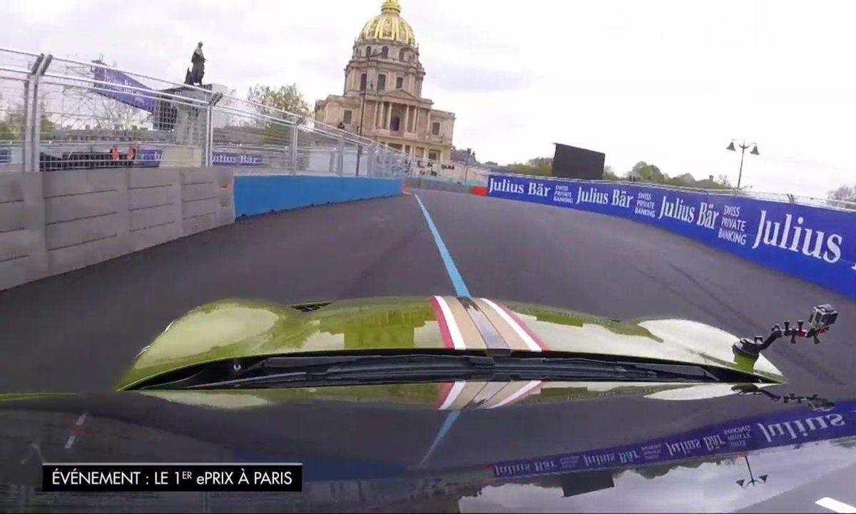 Redécouvrez l'ePrix de Paris au volant du supercar DS E-Tense