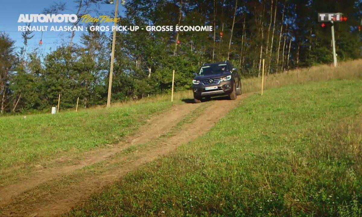 Renault Alaskan : Gros pick-up, grosse économie !