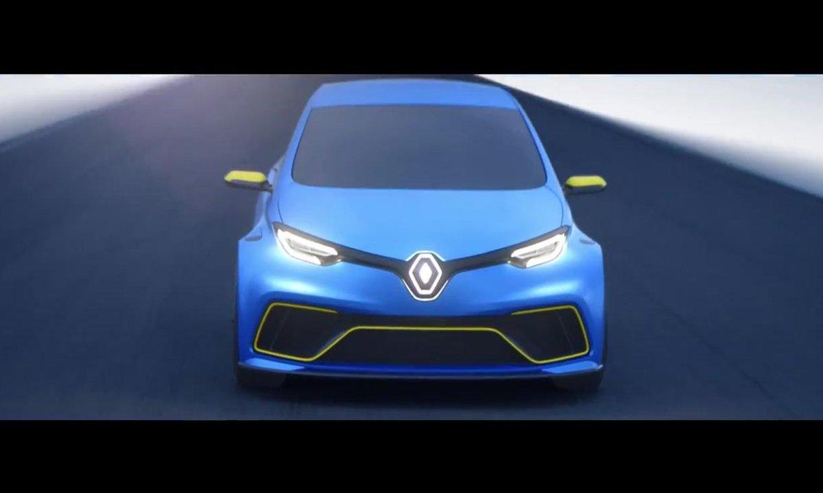 Renault ZOE e-Sport Concept 2017 : Présentation officielle
