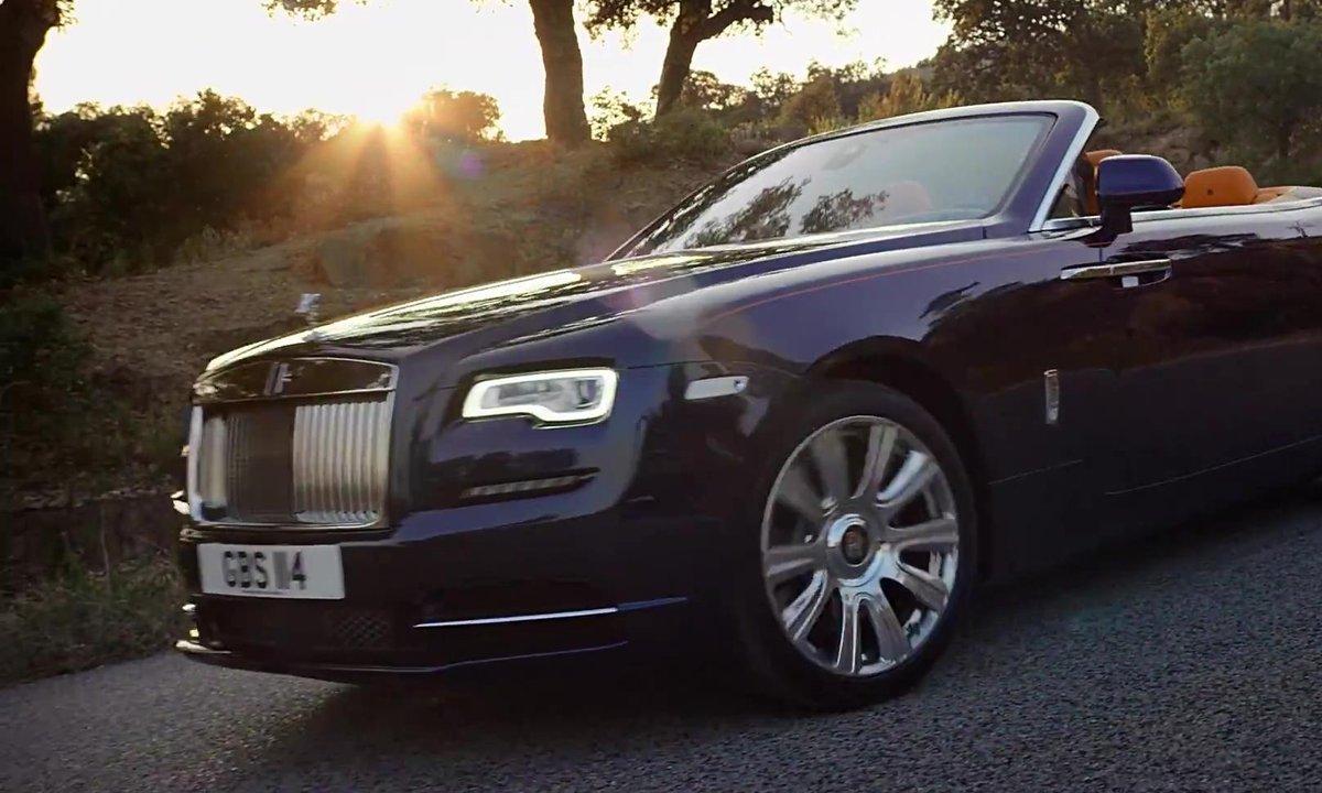 Rolls-Royce Dawn 2016 : présentation officielle