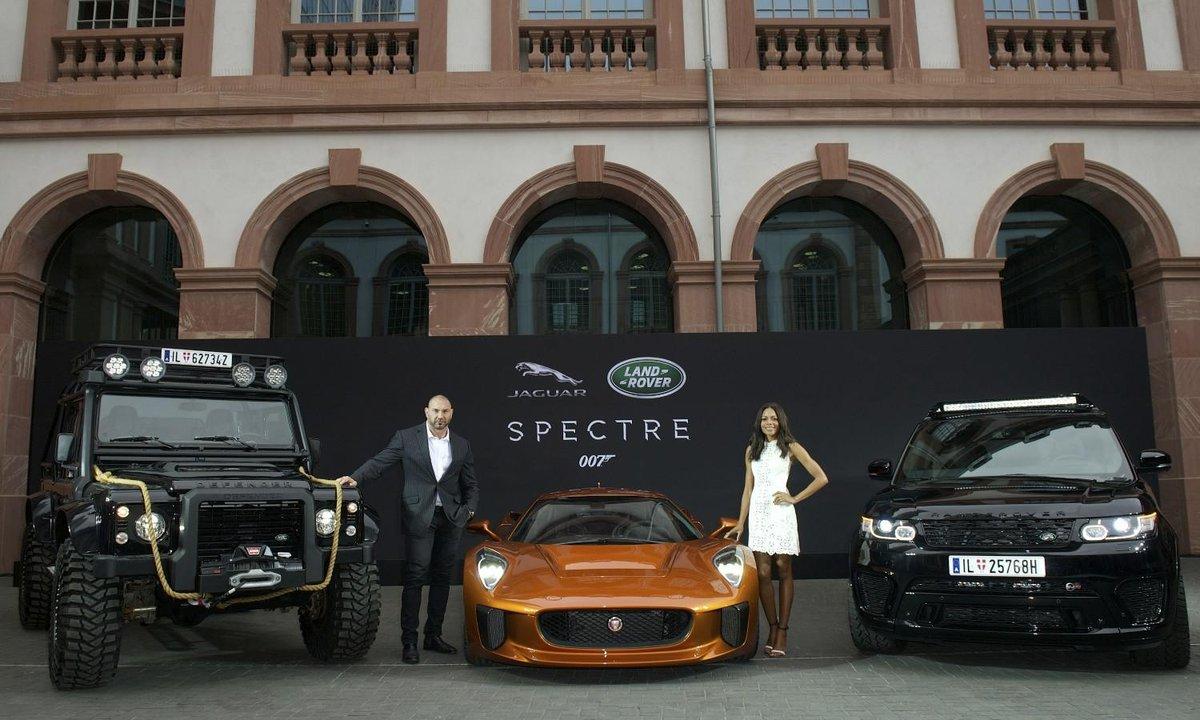 """Les voitures Land Rover et Jaguar de James Bond """"Spectre"""""""