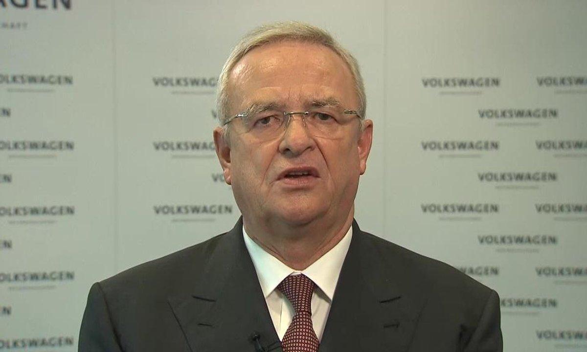 Scandale Volkswagen : les excuses du PDG Martin Winterkorn
