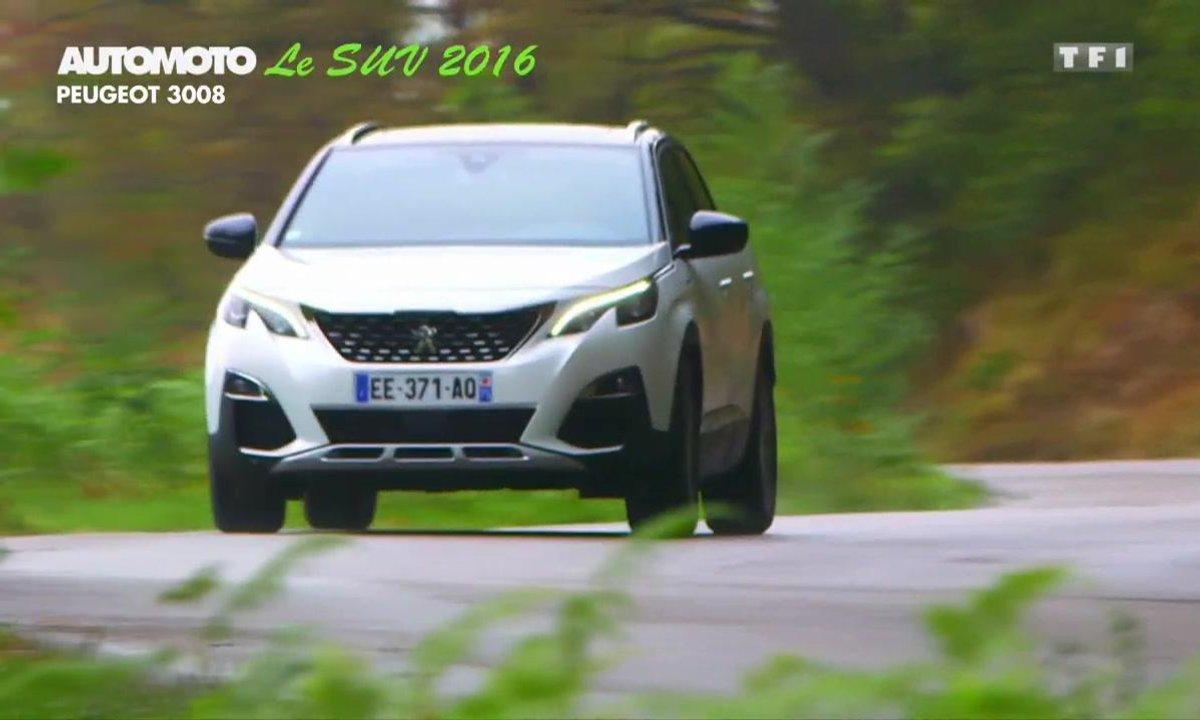 Sondage Automoto : le SUV de l'Année 2016 est le Peugeot 3008