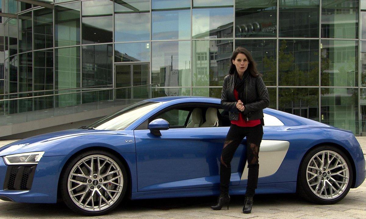 Teaser : Automoto essaie la nouvelle Audi R8 2015