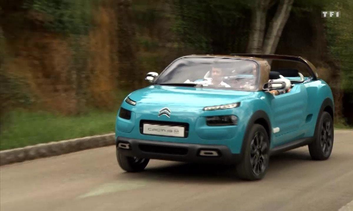 Teaser : le Citroën Cactus M Concept dans Automoto