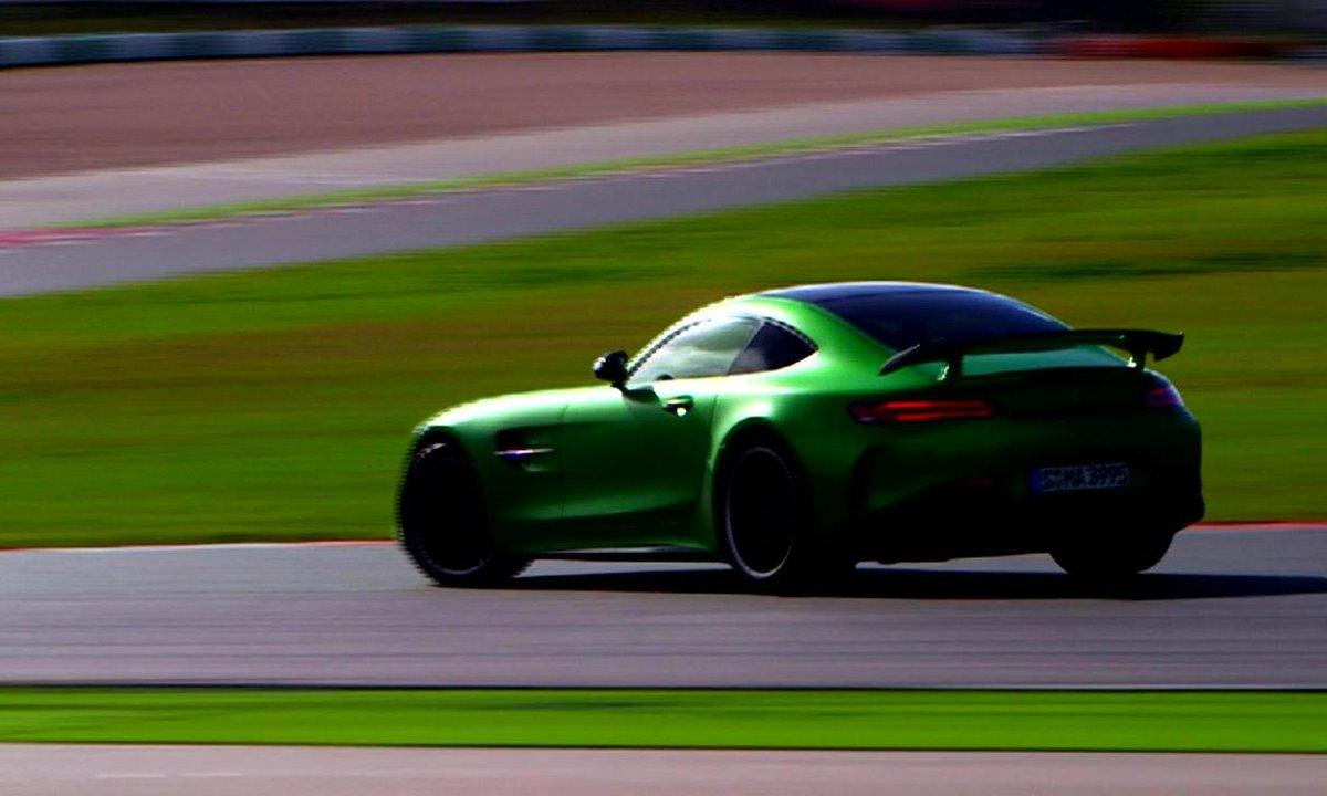 Teaser : La Mercedes-AMG GT R à l'essai ce dimanche 8 janvier 2017 !