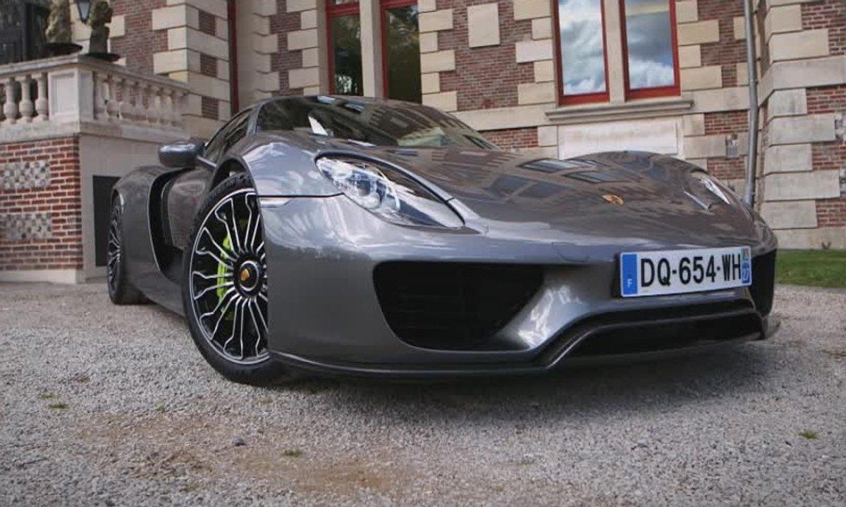Teaser : La Porsche 918 Spyder dans Automoto