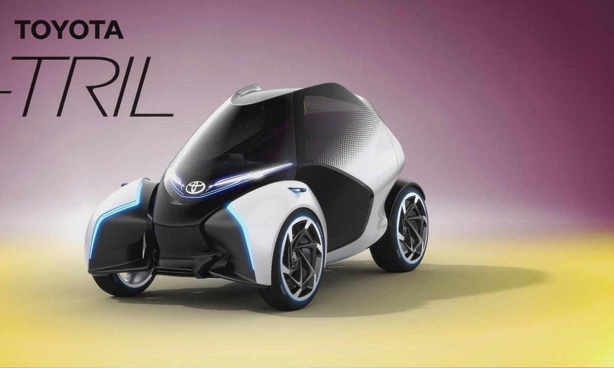 Toyota i-TRIL : Présentation officielle