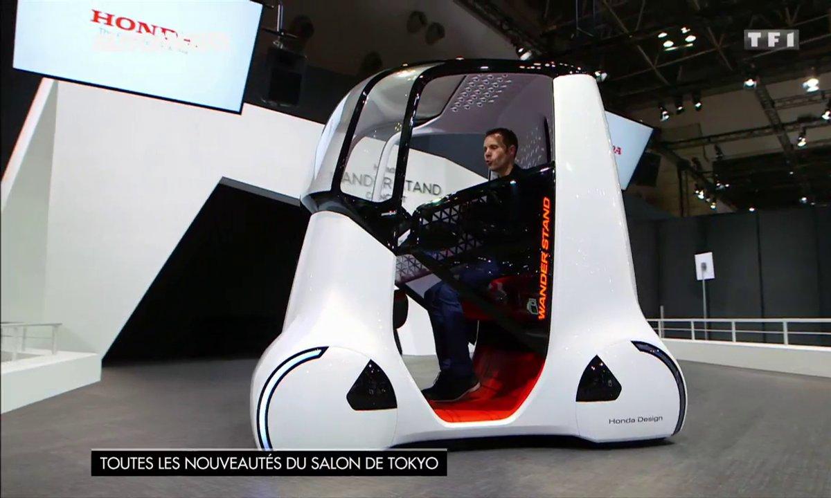 Les voitures futuristes du Salon de Tokyo 2015