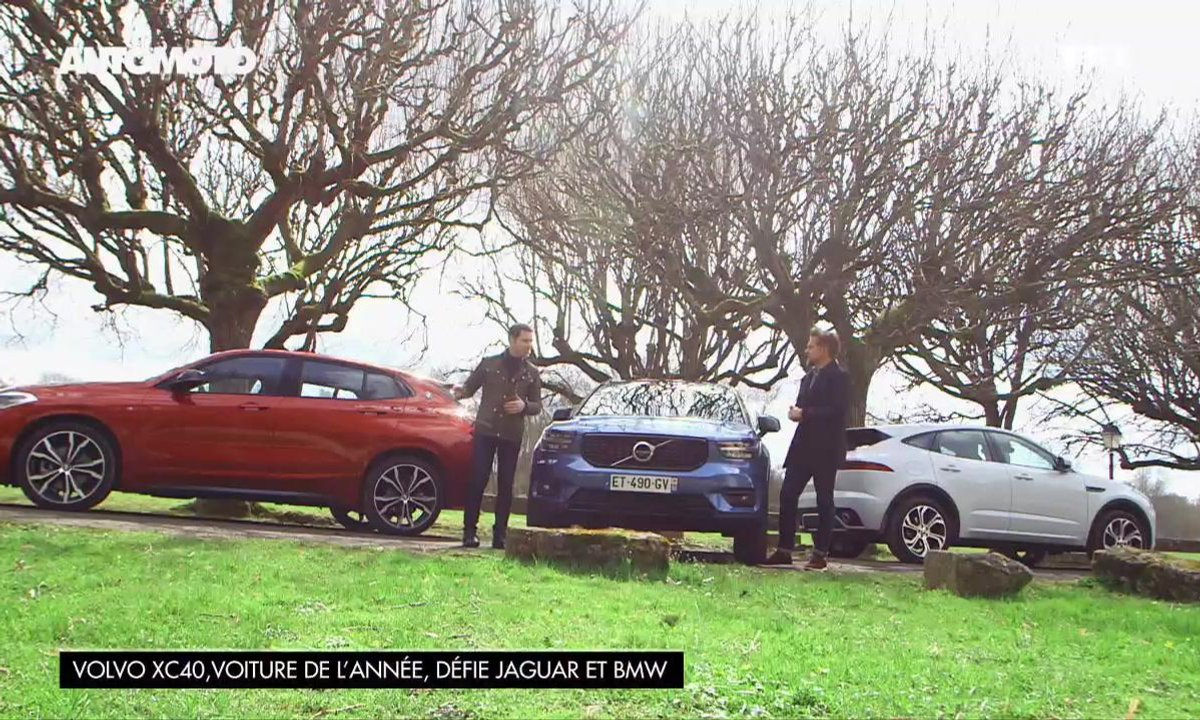 Volvo XC 40, voiture de l'année, défie Jaguar et BMW