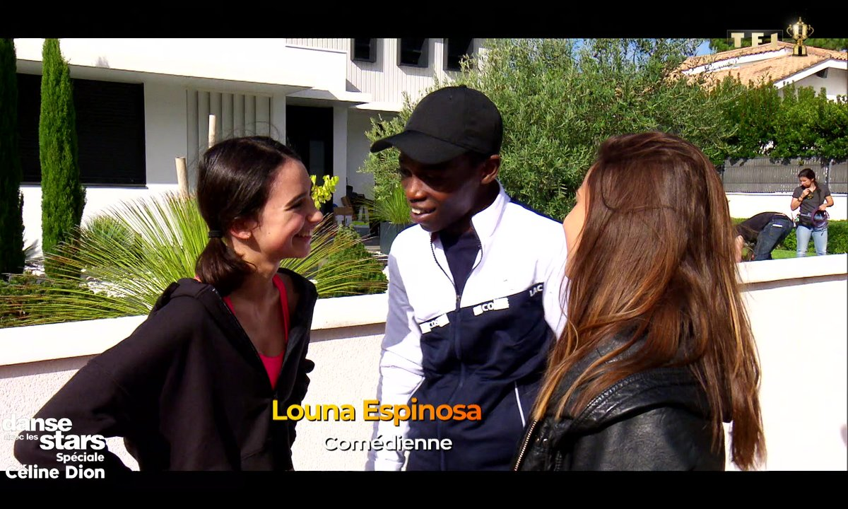 DALS - Azize Diabaté et Denitsa Ikonomova - Sur le tournage des Bracelets Rouges