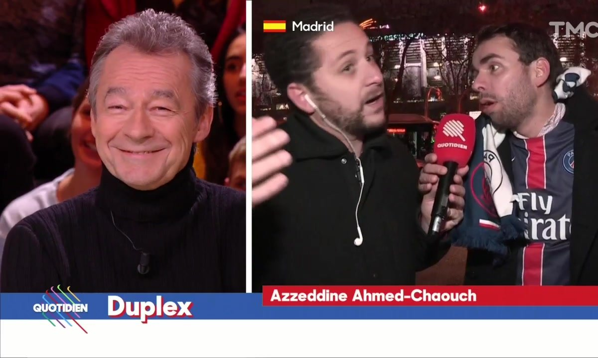 Azzeddine Ahmed Chaouch : L'avant-match en direct de Madrid