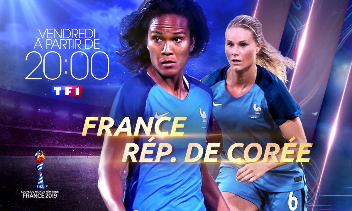 La Coupe du monde féminine 2019 débute sur TF1 !