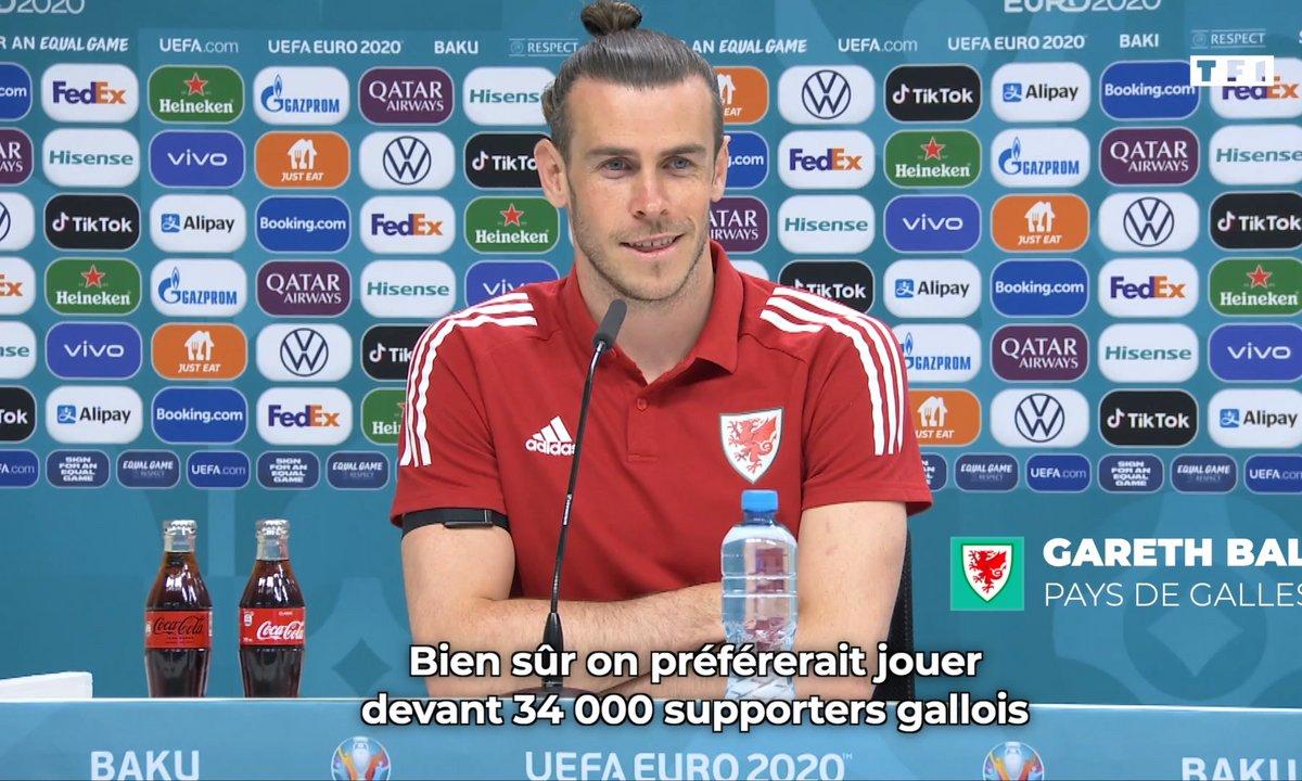 Gareth Bale ravi de pouvoir jouer devant des supporters !