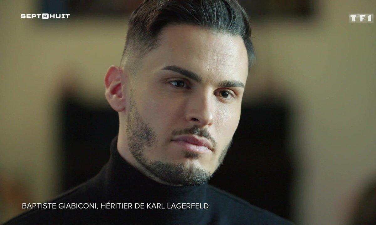 Baptiste Giabiconi se confie sur le testament de Karl Lagerfeld