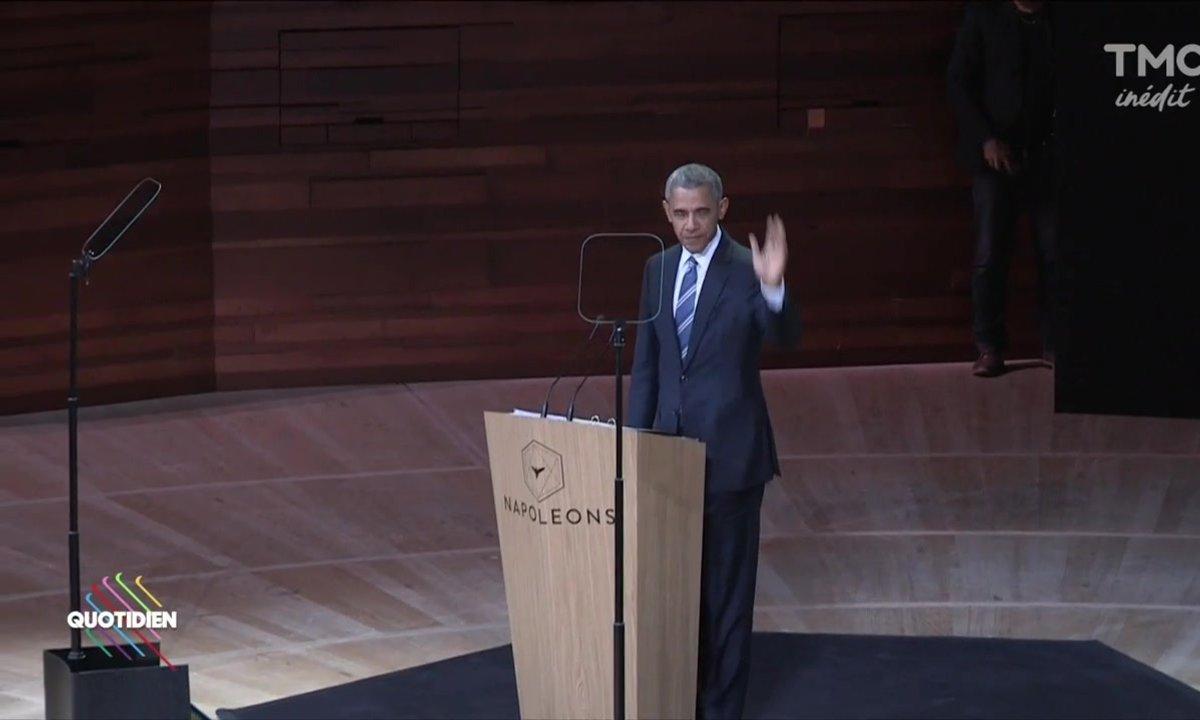 Barack Obama en visite à Paris