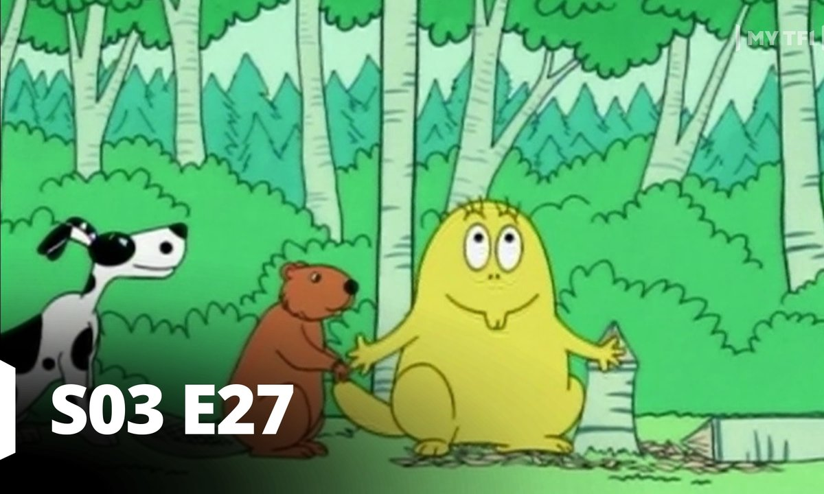 Barbapapa - S03 E27 - Le castor